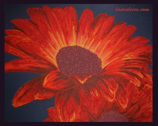 Eruption of Gerberas - Art by Laura Lecce