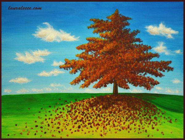 A fleeting season - Art by Laura Lecce