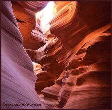 Antelope Canyon rock formations